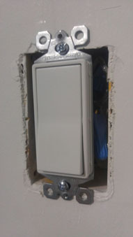 light switch installations and accessories - Licensed Electrician